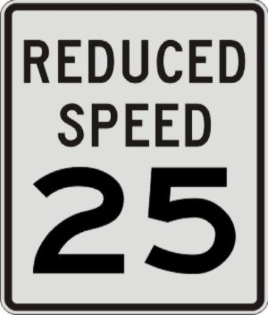 REDUCED SPEED 25 R2-5b