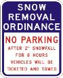 Snow Removal Ordinance
