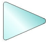 Pennant Sign Blank