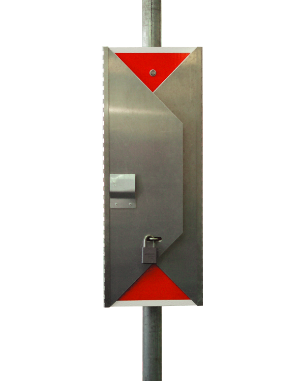 Tri-Fold Stop Sign Closed