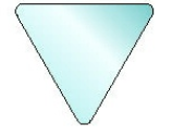 Triangle Sign Blank